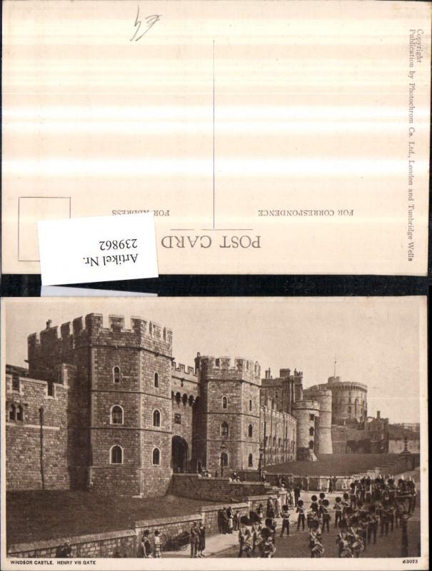 239862,Windsor Castle Schoss Henry 8 Gate