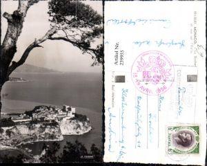 239955,Monaco Le Rocher et vue sur l'italie