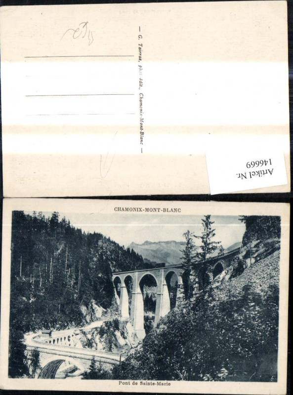 146669,Chamonix Mont Blanc Pont de Sainte Marie Brücke