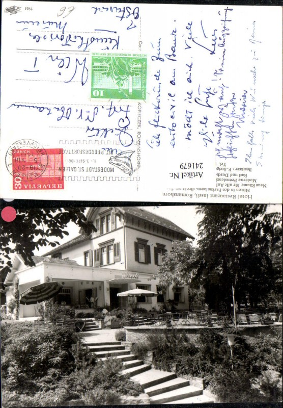 241679,Romanshorn Hotel Restaurant Inseli Kt Thurgau