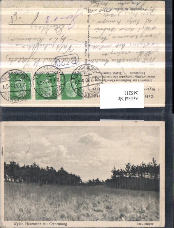 245211,Wyler Hexentanz m. Kranenburg Partie Wiese