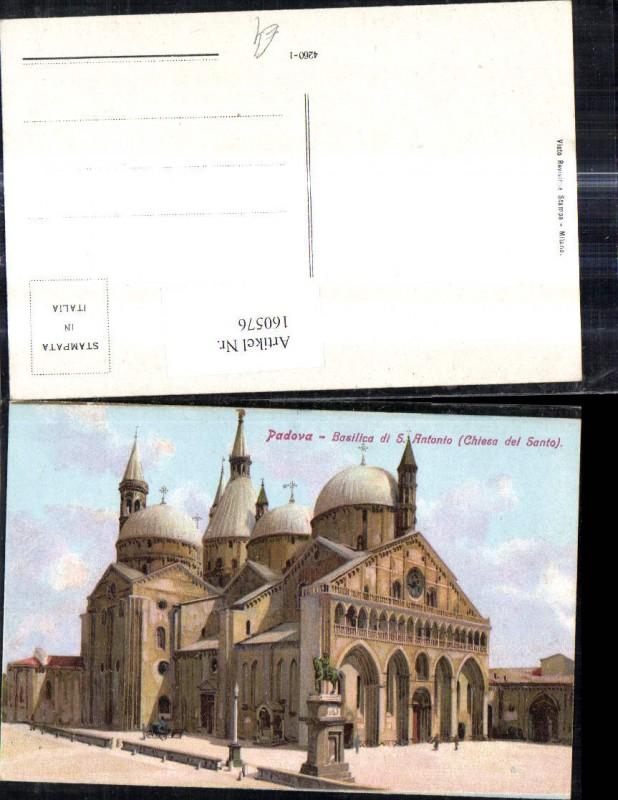 160576,Veneto Padova Basilica di S. Antonio Chiesa del Santo Kirche
