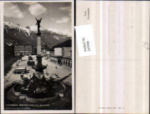 245988,Innsbruck Südtirolerplatz Bahnhof u. Vereinigungsbrunnen Brunnen