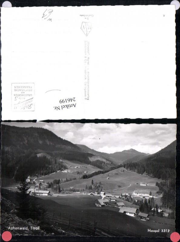 Bild zu 246199,Achenwald ...