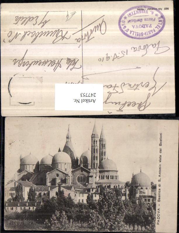 247753,Veneto Padova Basilica di S. Antonio vista dai Bastioni Kirche
