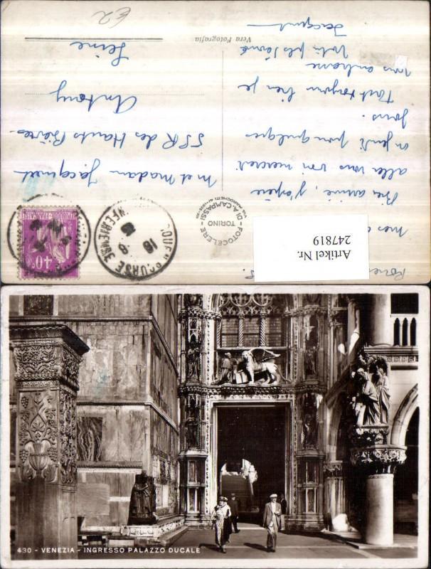 247819,Veneto Venezia Venedig Ingresso Palazzo Ducale 0