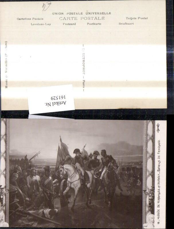 161529,Künstler Ak H. Vernet Napoleon Bataille de Friedland