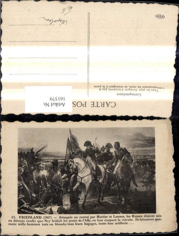161579,Künstler Napoleon Friedland 1807