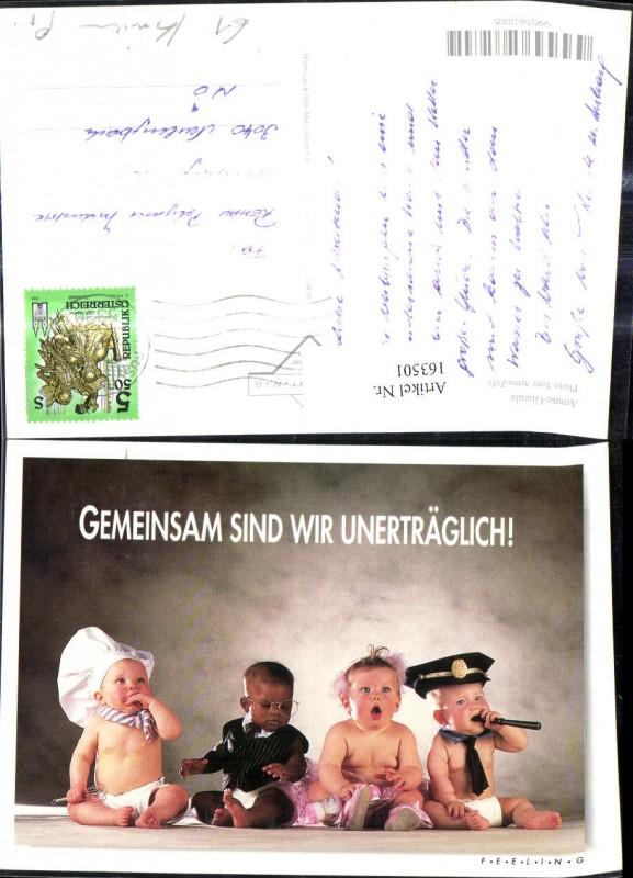 163501,Kinder Babies a. Koch Polizist Anwalt Scherz Humor Spruch Text  0