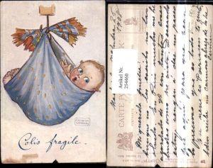 254460,Raphael Tuck & Sons 977P Künstler Katharine Gassaway Le nouveau Bebe Kind Baby hängt im Tuch