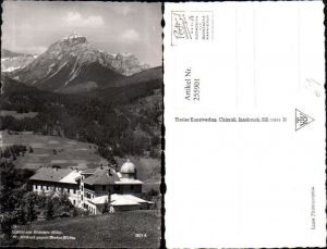 255901,Matrei am Brenner St. Michael Bildungshaus geg. Serles Bergkulisse