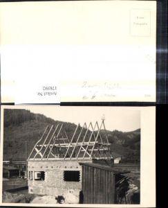 178592,Foto Ak Handwerk Hausbau Dachstuhl Dachdecker Zimmerei Tischler