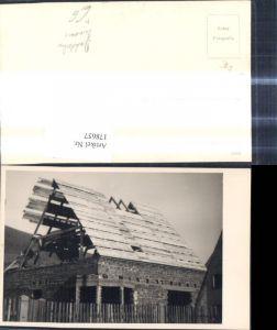 178657,Foto Ak Handwerk Hausbau Dachstuhl Dachdecker Zimmerei Tischler