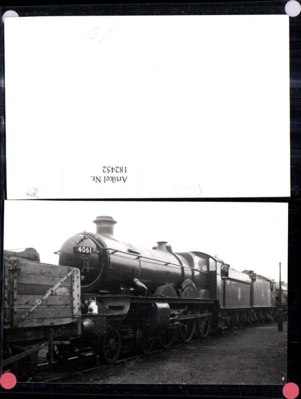 182452,Foto Ak Eisenbahn Zug Lokomotiven Train Dampflok 4061