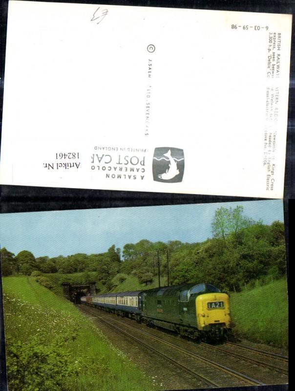 182461,Eisenbahn Zug Lokomotiven Train D9006 British Railways Eastern Region