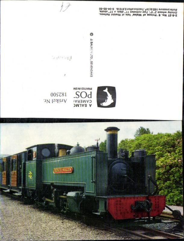 182500,Eisenbahn Zug Lokomotiven Train Dampflok Prince of Wales Rheidol Railway