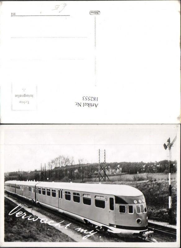 182553,Foto Ak Eisenbahn Zug Lokomotiven Train Verwacht mij
