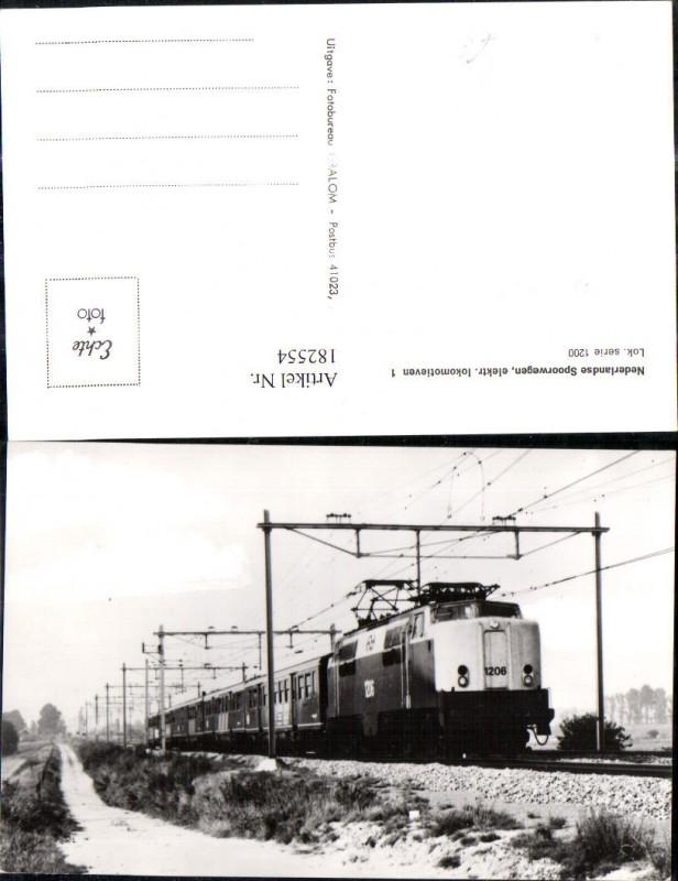 182554,Foto Ak Eisenbahn Zug Lokomotiven Train Nederlands Spoorwegen 1200 Boxtel