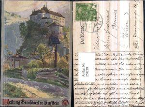258239,Deutscher Schulverein 335 Künstler E. F. Hofecker Festung Geroldseck in Kufstein Wegkreuz Marterl