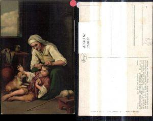 263072,Stengel Co 29977 Bartolome Esteban Murillo Alte Frau m. Knaben