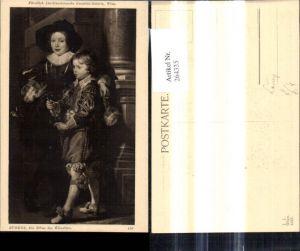 264335,Künstler Ak Peter Paul Rubens Die Söhne d. Künstlers pub J. Löwy Wien 193