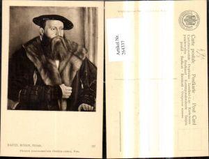 264337,Künstler Ak Bartel Beham Bildnis Mann Portrait pub J. Löwy Wien 137