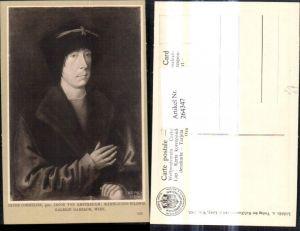 264347,Künstler Ak Jacob Cornelisz Jacob von Amsterdam Männliches Bildnis Mann Portrait pub J. Löwy Wien 125