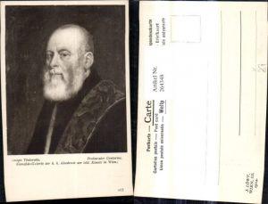 264348,Künstler Ak Jacopo Tintoretto Prokurator Contarinz Mann Portrait pub J. Löwy Wien 265