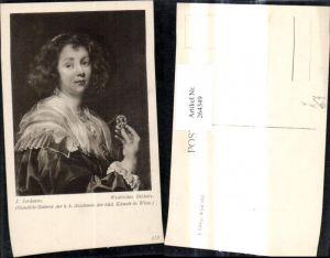 264349,Künstler Ak J. Jordaens Weibliches Bildnis Frau Portrait pub J. Löwy Wien 413