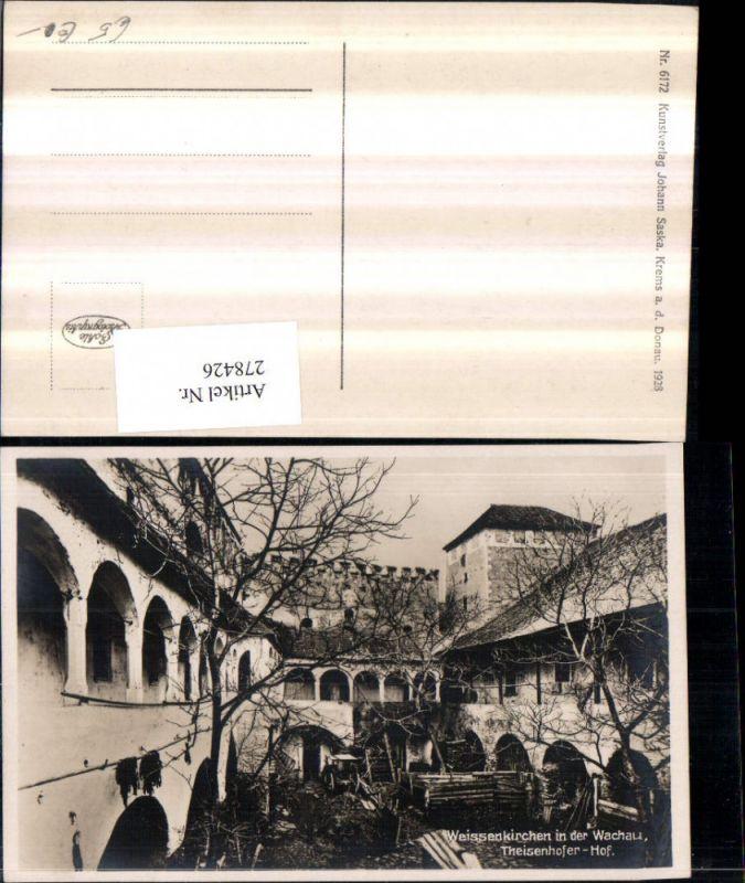 278426,Weißenkirchen in d. Wachau Theisenhofer-Hof Hof Arkaden