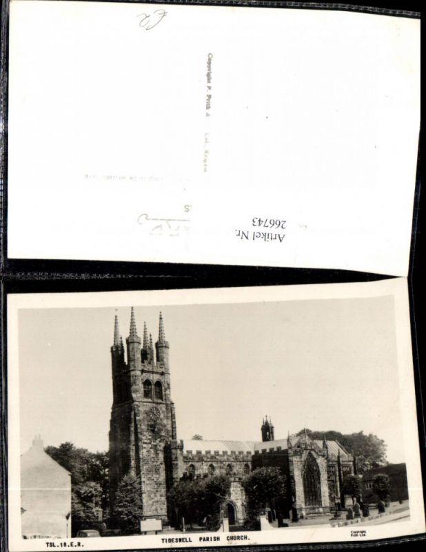 266743,Tideswell Parish Church Kirche