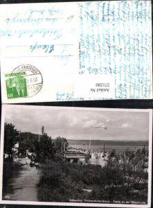 271280,Ostseebad Timmendorferstrand Partie an d. Strandhalle