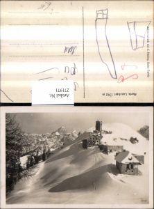 271971,Italien Friuli-Venezia-Giulia Udine Tarvis Camporosso In Valcanale Maria Luschari Totale Winterbild Bergkulisse