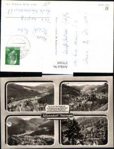 275269,Sitzendorf in Thüringen Totale Mehrbildkarte