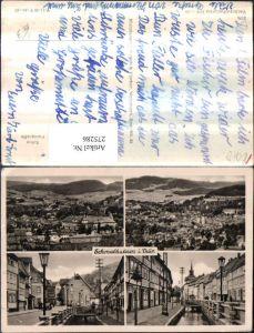 275286,Schmalkalden in Thüringen Totale Fluss Partie Mehrbildkarte