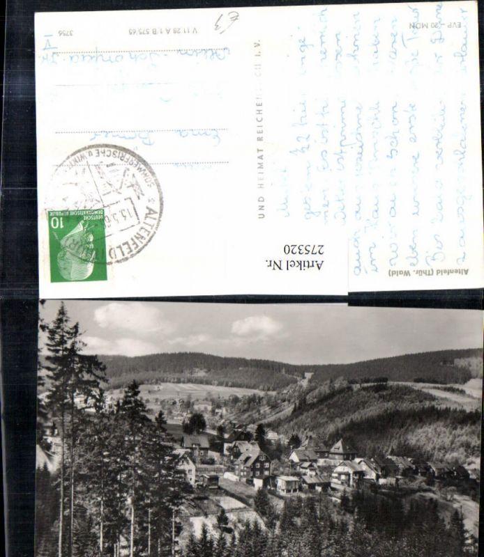 275320,Altenfeld im Thüringer Wald Teilansicht pub VEB