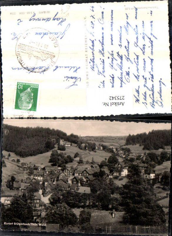 275342,Stützerbach im Thüringer Wald Totale pub VEB