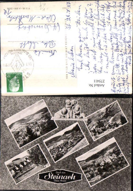 275411,Steinach im Thüringer Wald Totale Mehrbildkarte pub VEB 11/2455