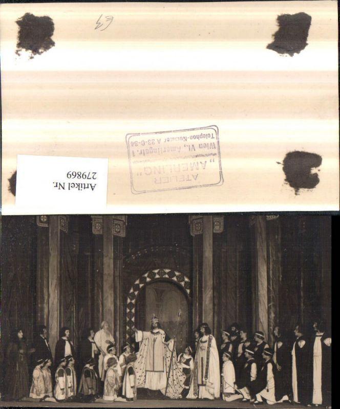 279869,Theater Passionsspiel Kostüme Schauspieler Krone Stab pub Atelier Amerling Wien