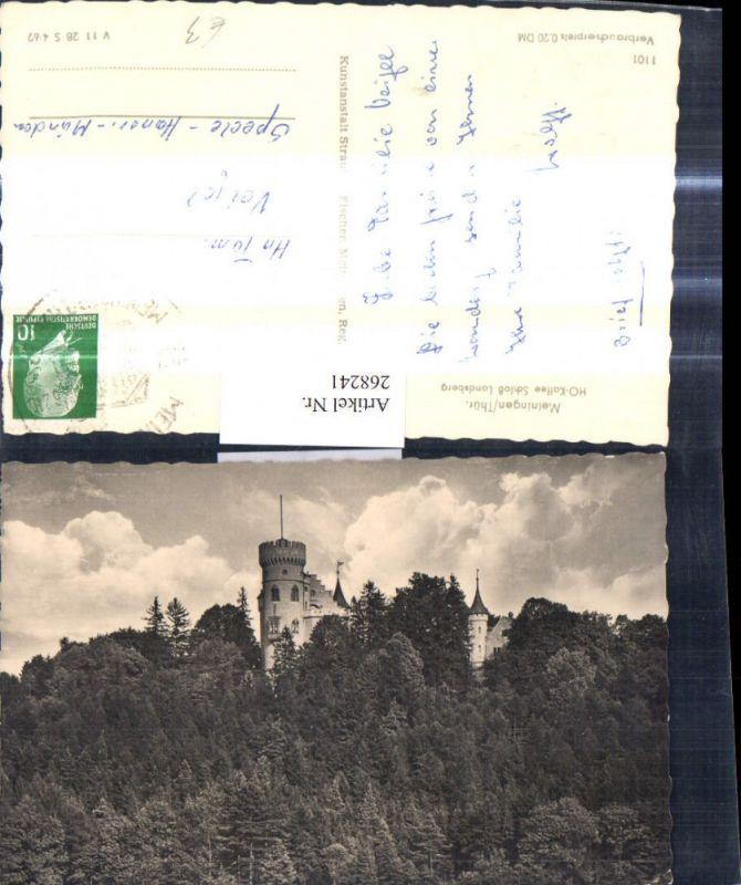 268241,Foto Ak Meiningen Thüringen Schloß Landsberg Schloss