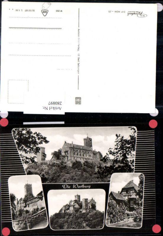 280897,Eisenach Wartburg Burg Mehrbildkarte 0