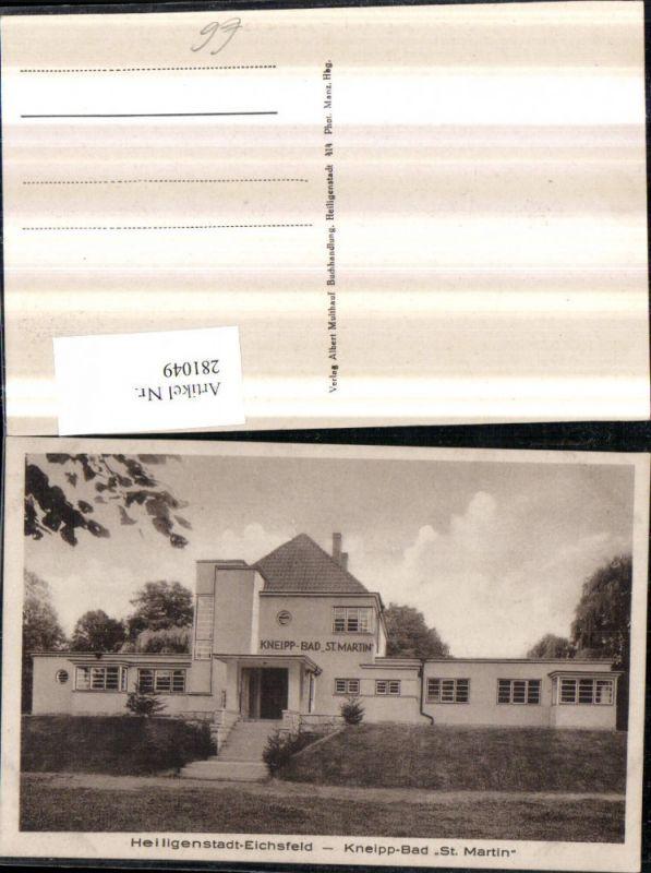 281049,Heiligenstadt Eichsfeld Kneipp-Bad St. Martin 0