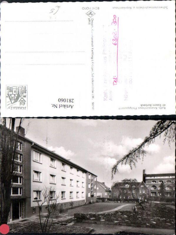 281060,Essen Borbeck Katholisches Krankenhaus Philippusstift 0