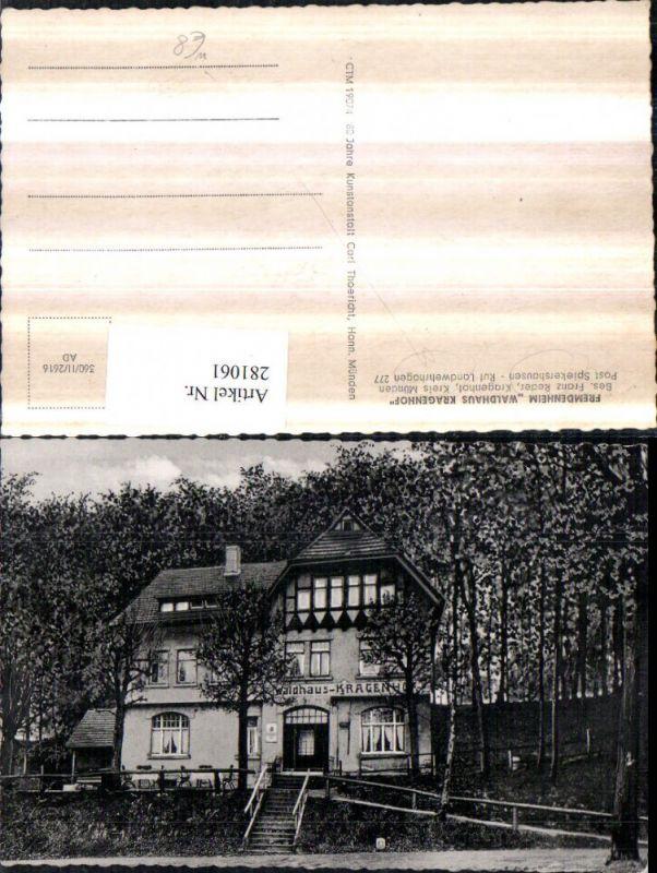 281061,Fremdenheim Waldhaus Kragenhof b. Spiekershausen Landwehrhagen 0