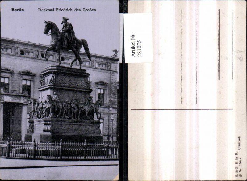 281075,Berlin Denkmal Friedrich des Großen 0