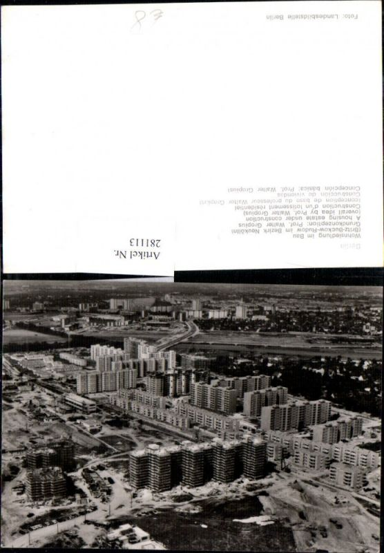 281113,Berlin Wohnsiedlung im Bau Totale 0