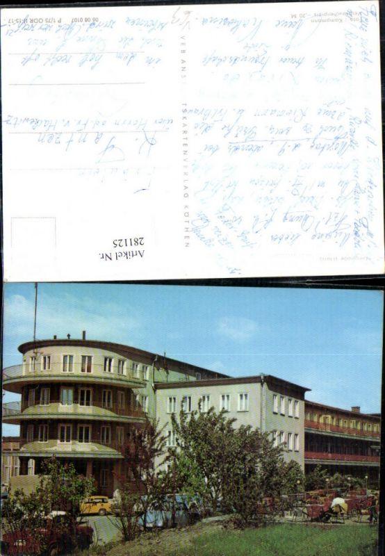 281125,Gernrode im Harz FDGB-Erholungsheim Fritz Heckert pub VEB 0