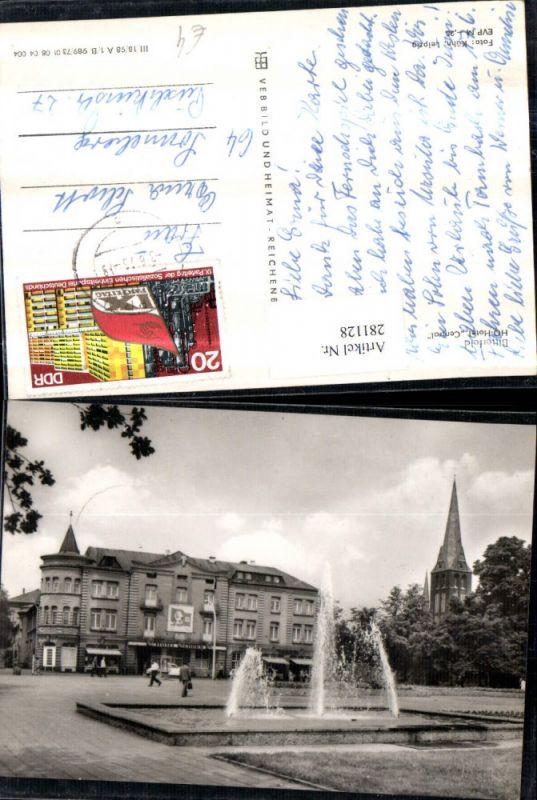 281128,Bitterfeld HO-Hotel Central Springbrunnen 0