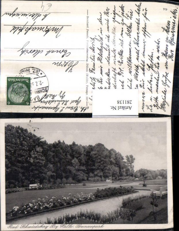 281138,Bad Schmiedeberg Sonnenpark Partie 0