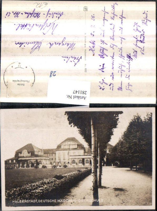 281147,Halberstadt Deutsche Mädchen-Oberschule 0